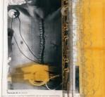 Serie Correcturas Simulativas | 1995 | Mischtechnik auf Stoff | 140x130 cm
