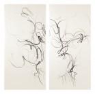 Tengo sed - Mich dürstet | Dibujo 3 - 198 x 203 cm | Zeichenkohle und Pastell auf Papier | 2013
