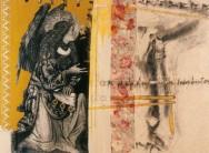 Serie Di-Simulaciones | 1997 - 1998 | Serigrafia y Dibujo sobre género | 130x175 cm
