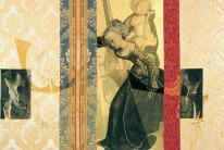 Serie La Falta | 2004 | Serigrafia, Dibujo y Oro sobre género | 140x210 cm