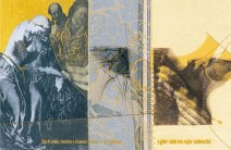 Serie La Falta | Skizzen | 2003 | Druck und Zeichnung auf Stoff | 19x28 cm