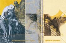 Serie La Falta | Bosquejo | 2003 | Impresión y Dibujo sobre género | 19x28 cm