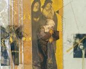 Serie La Falta | Skizzen | 2003 | Druck und Zeichnung auf Stoff | 23x27 cm