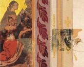 Serie La Falta | Skizzen | 2003 | Druck und Zeichnung auf Stoff | 21x26 cm
