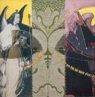 Befreiung | 2002 - 2003 | Druck und Zeichnung auf Stoff | je 22x22 cm