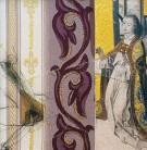 Stärkung | 2002 - 2003 | Druck und Zeichnung auf Stoff | je 22x22 cm