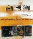 Serie Correcturas Simulativas | 1996 | Mischtechnik auf Stoff | 165x135 cm