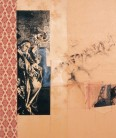 Serie Di-Simulaciones | 1998 - 1999 | Siebdruck und Zeichnung auf Stoff | 160x135 cm